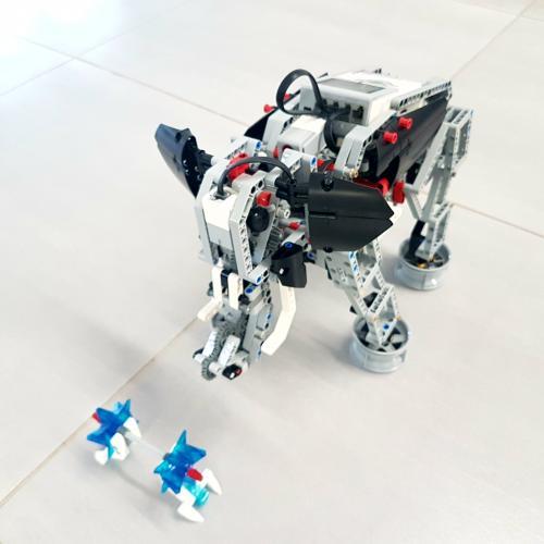 Śłoń - robot lego